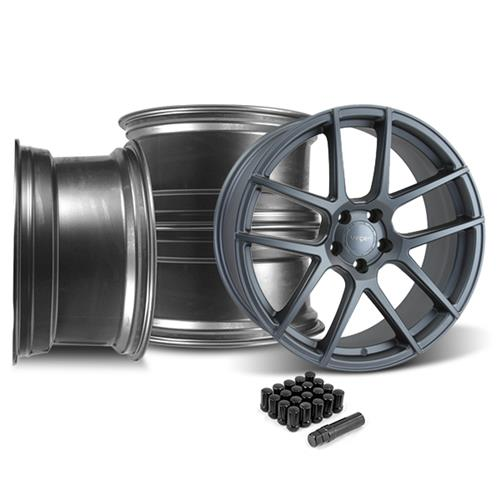 Velgen Mustang VMB5 Wheel & Lug Nut Kit 20X9/10.5  Gunmetal (15-16)