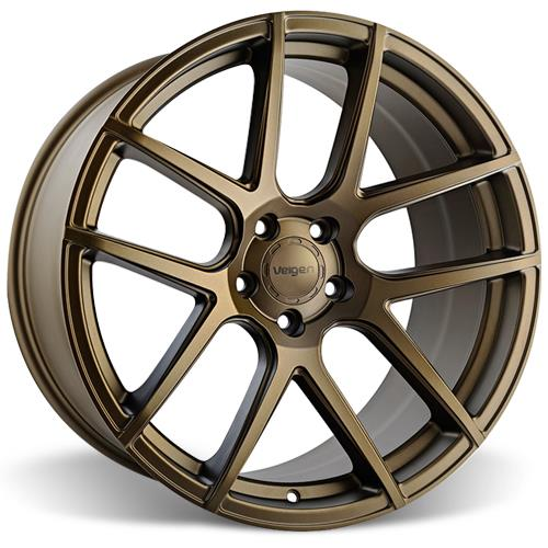 Velgen Mustang VMB5 20x9 Wheel Kit  - Bronze (05-14)