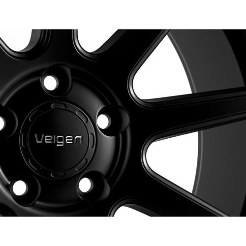 Velgen Mustang VMB9 Wheel & Lug Nut Kit - 20x9/10.5 Satin Black (15-17)
