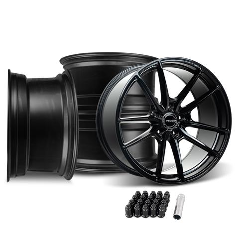Velgen Mustang VRF5 Wheel Kit - 20x10/11  - Gloss Black (15-19)