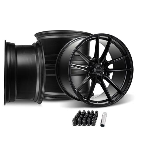 Velgen Mustang VRF5 Wheel Kit - 20x10/11  - Satin Black (15-19)