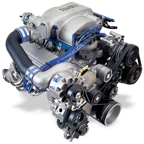 Vortech Mustang 5.0L V-3 SCi Non-Intercooled Entry Level System Polished (86-93)