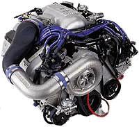 Vortech Mustang V-2 Non-Intercooled Complete Supercharger System - Satin (1998) Cobra 4.6 4FK218-080SQ