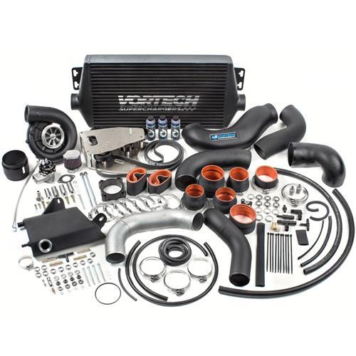 Vortech Mustang 5.0L V-3 Si Tuner Kit With Intercooler Satin (15-16)