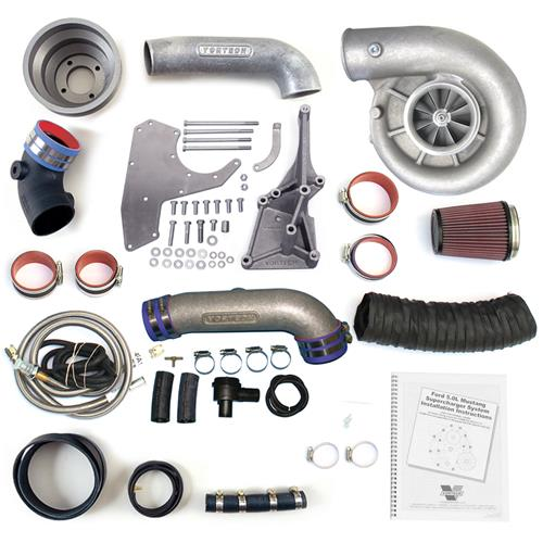 Vortech Mustang 4.0L V-3 Si Trim Polished Supercharger Kit  (07-08)