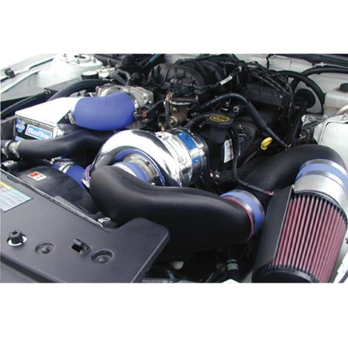 4.0L V6 V-3 Si Intercooled Supercharger Kit Mustang Polished (07-08)