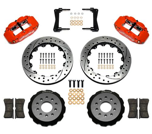 05-14 Mustang Wilwood Superlite 6R Front Brake Kit