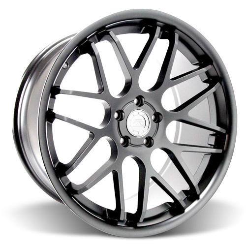 Mustang Downforce Wheel Kit - 20x8.5 Graphite (05-14)