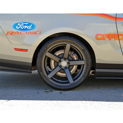 Mustang DF5 Wheel Kit - 20x8.5/10 Matte Gunmetal (05-14)