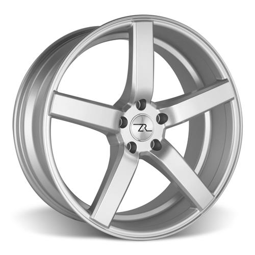 Mustang 20X8.5 DF5 Wheel Kit Silver (05-16)