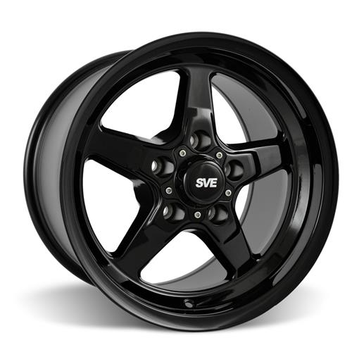 SVE Mustang Drag Wheel Kit 15X3.75/10 Gloss Black (05-10) - SVE Mustang Drag Wheel Kit 15X3.75/10 Gloss Black (05-10)