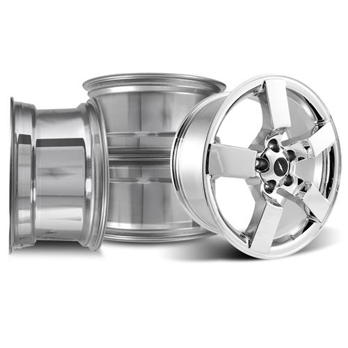 F-150 SVT Lightning Wheel Kit - 18x9.5 Chrome (99-04)