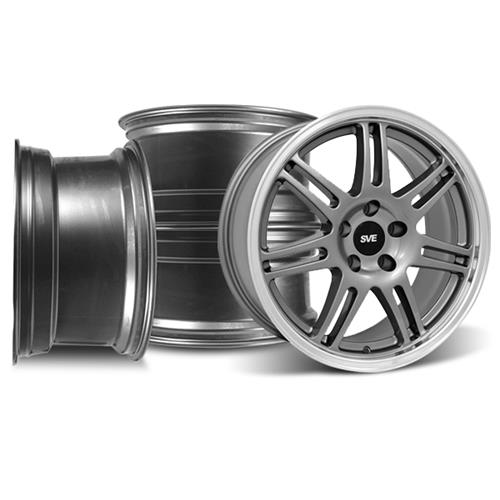 SVE Mustang Anniversary Wheel Kit - 18x9 Anthracite (94-04)