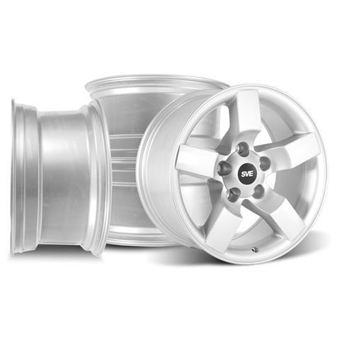F-150 SVT Lightning Wheel Kit - 18x9.5 Silver (99-04)