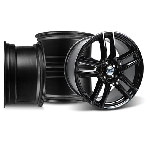 Boss 302 S Wheel Kit - 19X9/10 Mustang Gloss Black  (05-14)