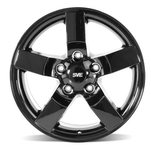 F-150 SVT Lightning Wheel Kit - 18x9.5 Gloss Black (99-04)