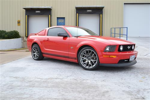 SVE Mustang Drift Wheel Kit - 19x9.5 Dark Stainless (05-15)