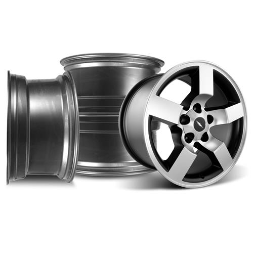 F-150 SVT Lightning Wheel Kit - 18x9.5  - Machined (99-04) - F-150 SVT Lightning Wheel Kit - 18x9.5  - Machined (99-04)