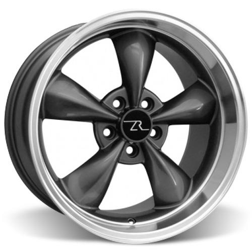 Mustang Bullitt Wheel Kit 18x9/10 Anthracite (05-16)