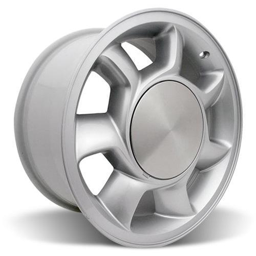 Mustang 93 Cobra Wheel Kit - 17x8.5 Silver (79-93)