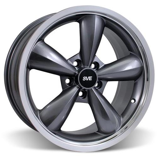 Mustang Bullitt Wheel Kit - 17x9 Anthracite (94-04)