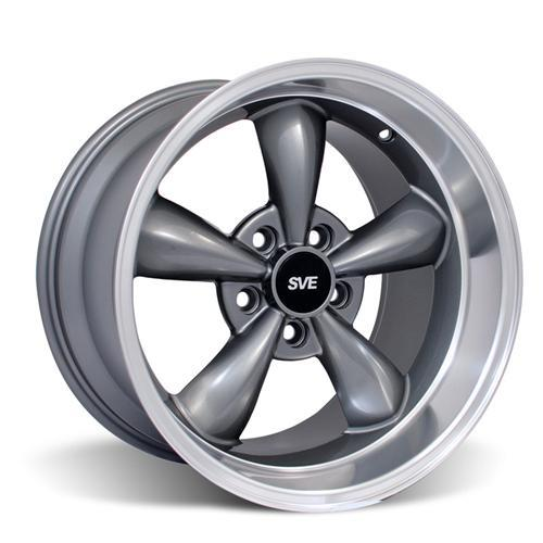 Mustang Bullitt Wheel Kit - 17x9/10.5 Anthracite (94-04)