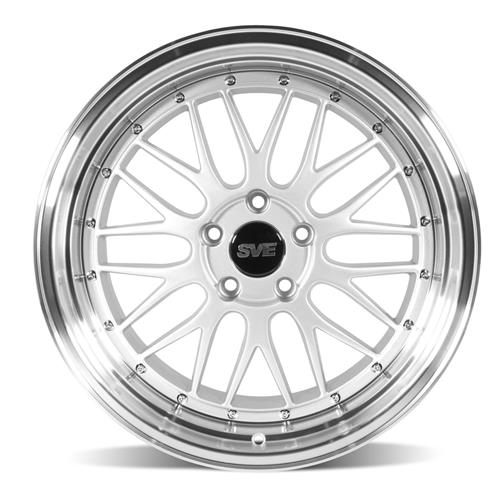 sve mustang series 1 wheel kit 18x9 10 gloss silver 94 04 Custom Mustang Cobra II