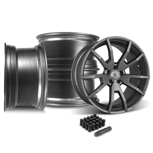 CDC  Mustang Outlaw 20X10 Wheel & Lug Nut Kit  Gunsmoke (15-16)