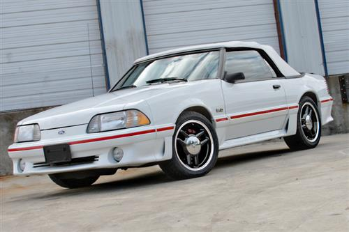 SVE Mustang 1993 Cobra R Style Wheel Kit - 17x8 - 4 Lug Black (79-93)