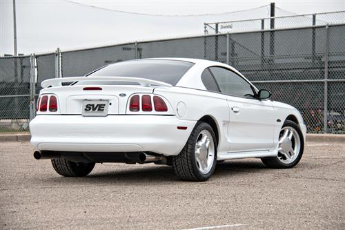 SVE Mustang Tri-Bar Wheel Kit - 17x9 - 5 Lug Silver (79-04)