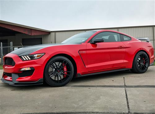 SVE Mustang GT350 GT7 Wheel Kit - 19x11/11.5  - Satin Black (16-17)