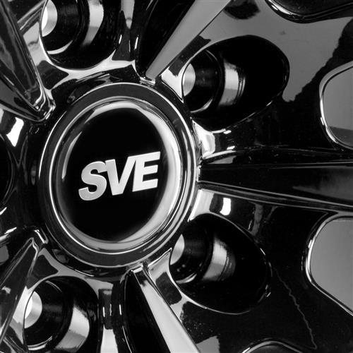 SVE Mustang S350 Wheel Kit - 20x10  - Gloss Black (15-17)