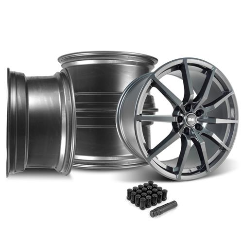SVE Mustang GT350 Style Wheel Kit - 20x10  - Gloss Graphite (05-14)