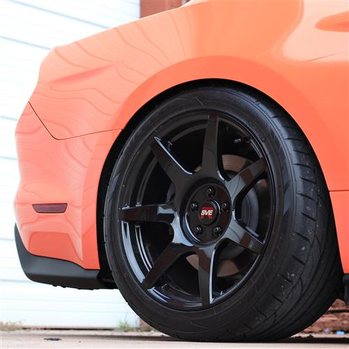 SVE Mustang R350 Wheel Kit - 19x10  - Gloss Black (15-17)