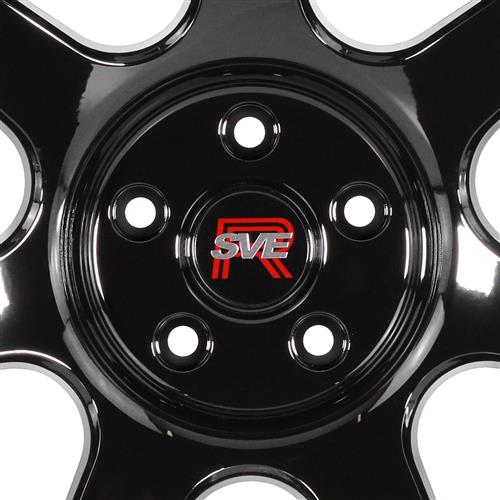 SVE Mustang R350 Wheel Kit - 19x10  - Gloss Black (15-20)