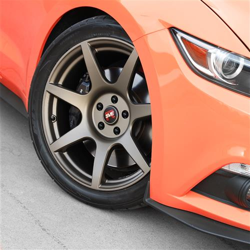 SVE Mustang R350 Wheel Kit - 19x10/11  - Satin Bronze (15-17)