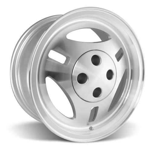 Mustang TRX R390 Style Wheel Kit - 16x7 - Machined (79-93)