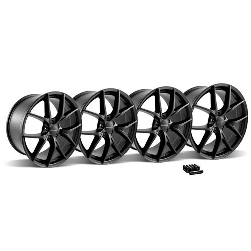 2015-2014 Mustang KMC KM694 Wishbone Wheel Kit - 20X9.5