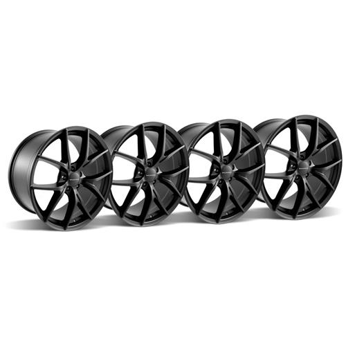 2005-2014 Mustang KMC KM694 Wishbone Wheel Kit - 20X9.5
