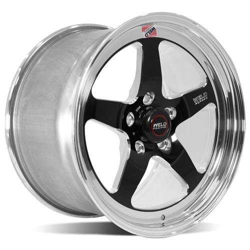 Weld Mustang RT-S Wheel Kit - 18x5/17x10 Black (05-14)