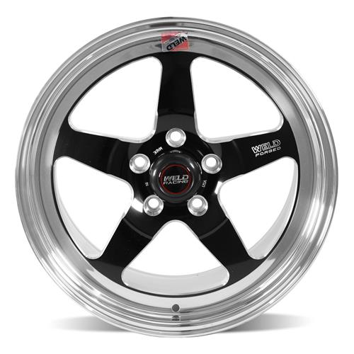 Weld Mustang RT-S Wheel Kit - 18x5/17x10  - Black (15-18)