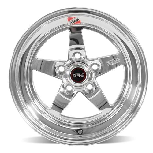 Weld Mustang RT-S S71P Wheel Kit - 17x5/15x10 Polished (94-04)