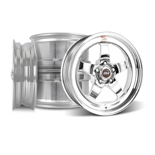 Weld Mustang RT-S S71P Wheel Kit - 17x5/17x10 Polished (94-04)