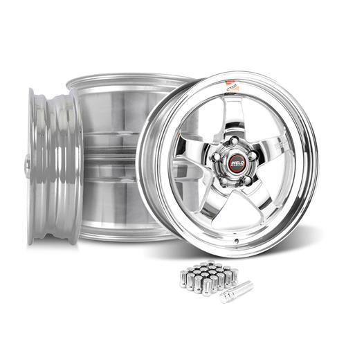 Weld Mustang RT-S S71P Wheel Kit - 18x5/17x10 Polished (05-16)