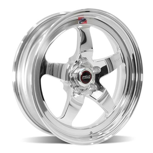 Weld Mustang RT-S S71P Wheel Kit - 18x5/17x10  - Polished (15-18)