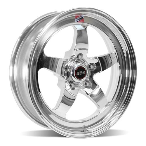 Weld Mustang RT-S S71P Wheel Kit - 17x5/17x10 Polished (05-14)