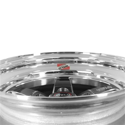 Weld Mustang RT-S Wheel Kit - 15x4/15x10 Black (94-04)