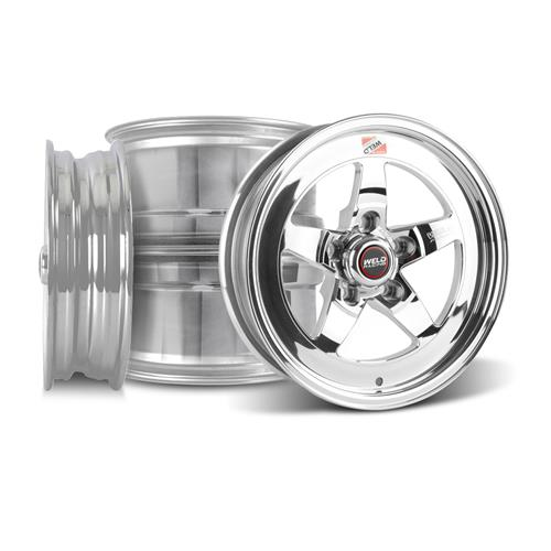Weld Mustang RT-S S71P Wheel Kit - 15x4/15x10 Polished (94-04)