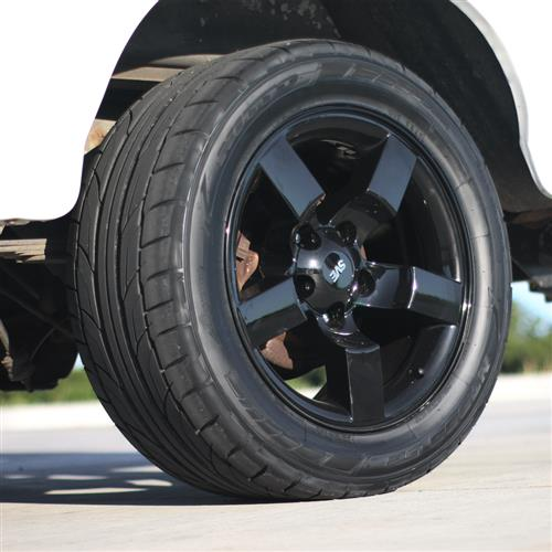 SVE F-150 SVT Lightning Gen.1 2001 Style Lightning Wheel Kit - 18x9.5  - Gloss Black (93-95)