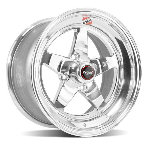 Weld Mustang RT-S Wheel Kit - 15x4/15x8 Polished (79-93)